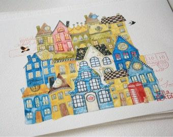 Lilla Village (print)