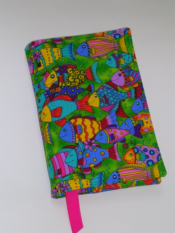 Large Cloth Book Covers : Fabric book cover for large trade size by creativemoments