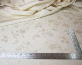 Bone Bridal Corset Drapery Fabric Tonal Damask Jacquard