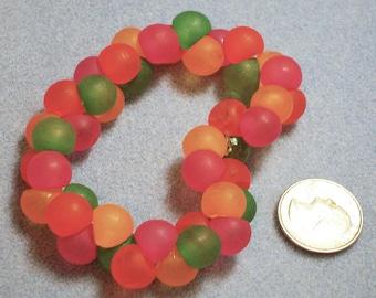Acrylic Ball Bracelet (858)