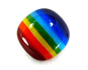 Pocket Rainbow Glass Unworry Stone 7 Color