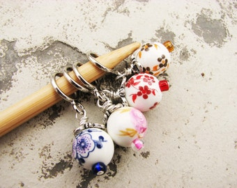 Victorian Garden Party Non-Snag Stitch Markers