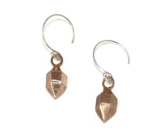 Cast Herkimer Diamond Earrings: Mother's Day