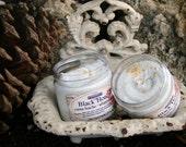 Black Honey 2 oz VEGAN VERSION Whipped Soap Mini Creme Fraiche Trial Sample Size