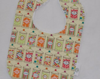 Yellow Candy Jars Boutique Bib