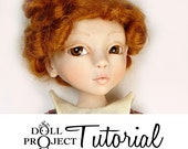 How to Sculpt a Ball Jointed Doll BJD Art Doll PDF Tutorial by Doll Project