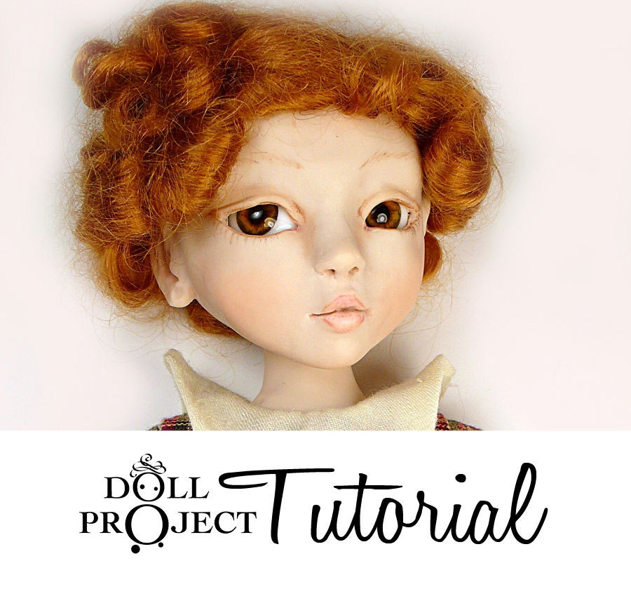 How to Sculpt a Ball Jointed Doll BJD Art Doll PDF Tutorial by