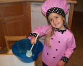 Special Listing for Daunelle quinn,  Child's Chef's Coat and Hat