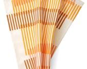 SALE! Combs Handkerchief - Geometric, retro print hankie