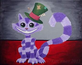 Cheshire Kitten, Art Print