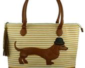 Mr Sausage Dog Day Bag *Last one!