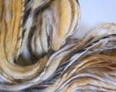 handspun yarn AUTUMN BIRCH  reserve for camille