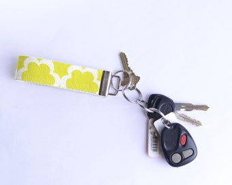 New Fabric Key Fob Tarkia Moss