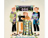 T-Shirt for Quilters - XXL & XXXL - Wholesale -2 Shirts Per Pack