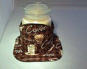 Coffee Candle Wrap