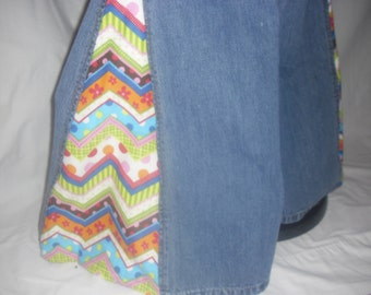 That 70s Show Hippie Gypsy Boho Altered Couture London Jeans