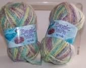 Multi Color Pastel Basic Yarn 2 Skeins