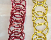 ALUMINUM MEDIUM Baby Sling Rings 2 colors available plus some colored singles