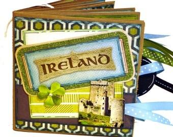 Ireland Scrapbook - Paper Bag Travel Album