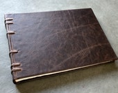 Reserved for Angie - Landscape Photo Album  - 120 pages - Leather
