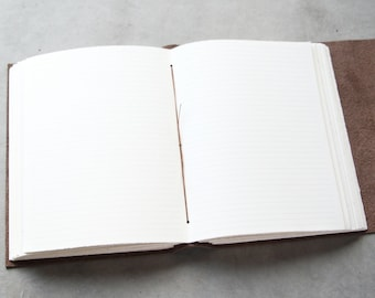 Lined pages - for 5x7 journals - does not increase page count