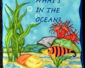 What's In the Ocean  Soft Book for Children