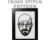 DIY Walter White - Breaking Bad - .pdf Original Cross Stitch Pattern - Instant Download