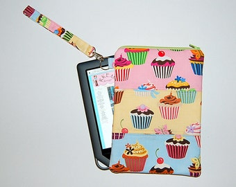 Sweet Tooth Patchwork - iPad Mini / Kindle / Nook / Nexus 7 Padded Cover with Strap