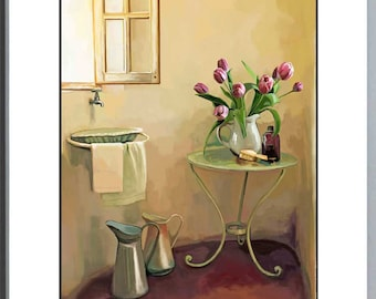 Intimate Interiors - 8 x 10 inch - Art Print