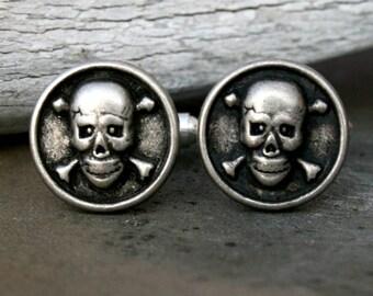 Cufflinks - Skull and Crossbones