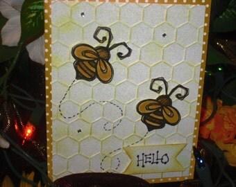 A Bumble Bee Hello