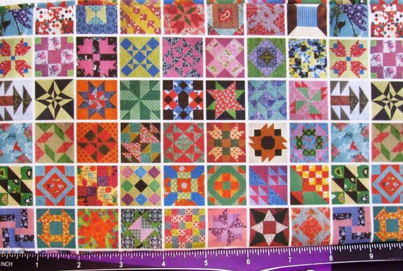 dollhouse miniature upholstery fabric quilting patchwork brights ll