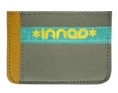 Mustard Stone Lt. Blue Ultra Slim Wallet
