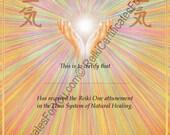 Reiki Certificate Template - Healing Hands