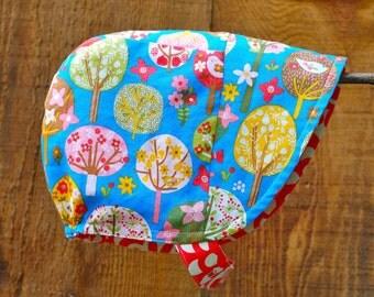 Birdhouse Baby Sun Bonnet Hat