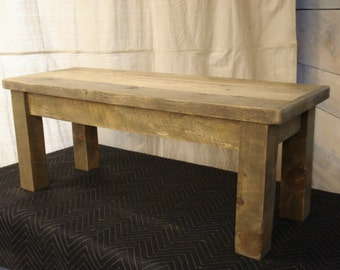 Duffs Farmhouse Bench (42 x 15 x 17H)  (Custom Request new pictures soon)