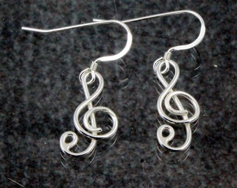 Treble Cleff Earrings