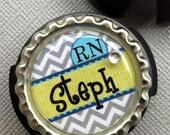 Personalized Stethoscope Identification tag- Nurse RN-  L&D, NICU nurse, doctor, medic, healthcare profession