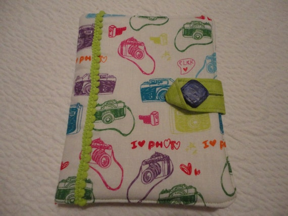 Nook Simple Touch/Kindle paper white/Kindle Touch/ Kindle Voyage Ereader Cover with pockets