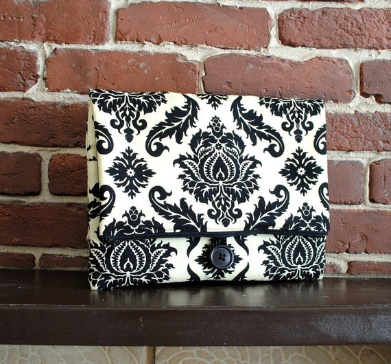 iPad Case - Damask in Cavern