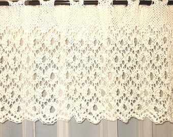 Pdf ENGLISH LACE Knitted Valance Pattern