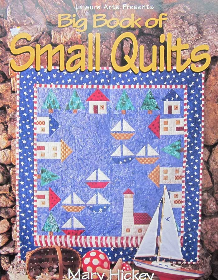 Big Book of Small Quilts Quilting Pattern Book by TheHowlingHag