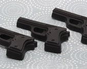 Handmade Glycerin Soap - Gun Soap - Set of 3