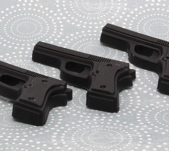 Handmade Glycerin Soap - Gun Soap - Set of 3