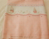 Vintage Daisy Kingdom Rabbits and Geese Fabric