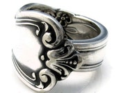 Spoon Ring All Sizes Silver Valley Rose