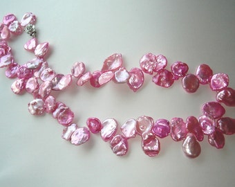 Lilly Pulitzer Pink Keshi Pearl Necklace