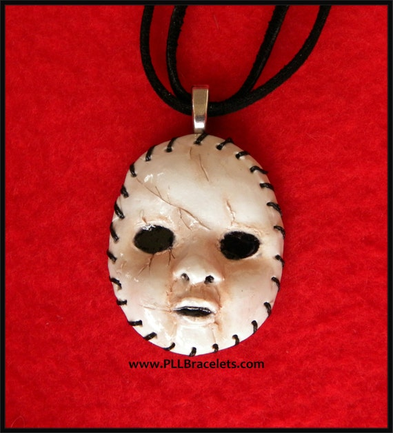 Pretty Little Liars Inspired A Halloween Mask Necklace PLL