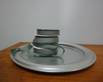 West Bend Aluminum Tray,  1960s Mid Century Modern Round Serving Platter