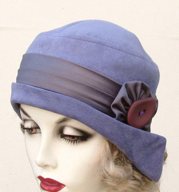 s deco flapper hat in classic 1920 s style by
